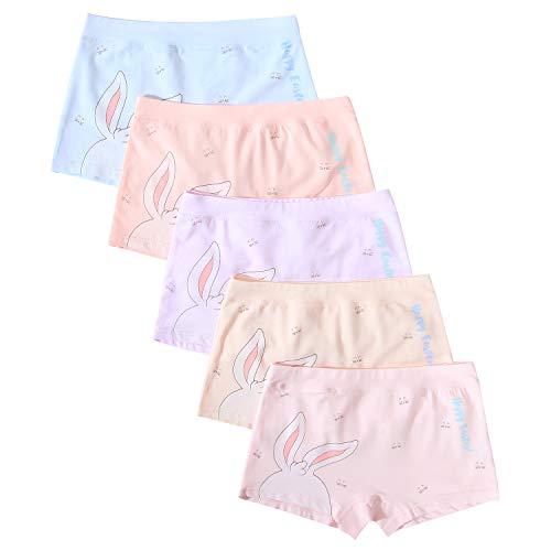 FYDRISE Girls Unicorn Panties Underwear Seamless Unicorn Briefs Panties Pack of 5