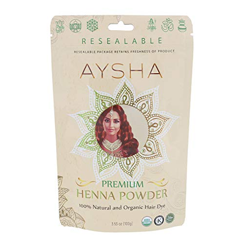 100% Pure Natural & Organic Premium Henna Powder