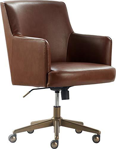 Finch CHR10061D Belmont Home Office Chair, Cognac Brown