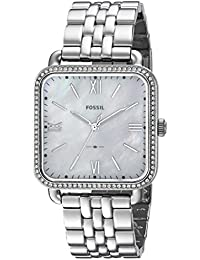 Women's 'Micah' Quartz Stainless Steel Casual Watch, Color:Silver-Toned (Model: ES4268)