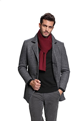 Men Cashmere Scarf Winter Scarves by FULLRON Fashion Scarf for Men (Luxury Gift)