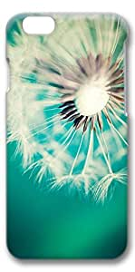 iPhone 6 Case, Protective Case[Scratch Resistant][Perfect Fit] Hard 3D Cover for 4.7 inches iPhone 6 - Dandelion