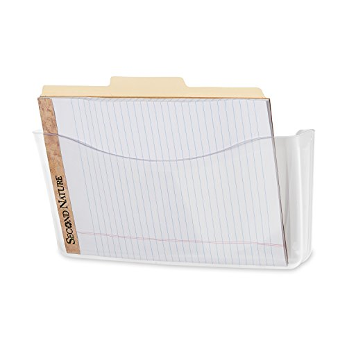 Issue Slam Magazine - Rubbermaid Unbreakable Single Pocket Wall File, Letter Size (85. x 11), Clear (65972ROS)
