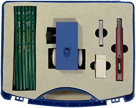 MeterTo 1pcs Standard Vickers Hardness Test Block 175-750 HV5 Standard ASTM ILAC CNAS Class A Ф60