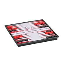 WE Games Magnetic Backgammon Set - Small Travel Size