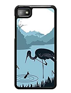 6694053M486298080 Creative Pattern Silhouette Series Phone Accessories Style 013, Drop Proof Case Cover for Blackberry z10