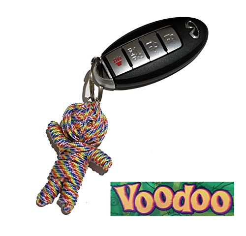 - Aryellys Voodoo Doll Keychain Backpack Clip (Multicolor)