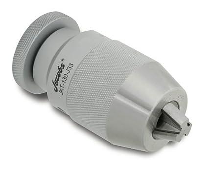 1//32-1//2 Capacity 1-7//8 Chuck Diameter Llambrich JK Solid High Torque//High Precision Keyless Drill Chuck with Integrated Solid MT3 Morse Taper Shank