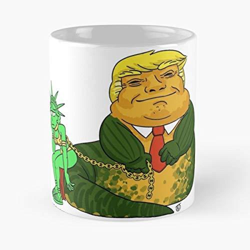Donald Trump Statue Of Liberty Coffee Mugs 11 Oz