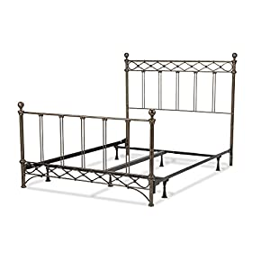 Amazon Com Argyle Complete Bed With Round Finial Posts And