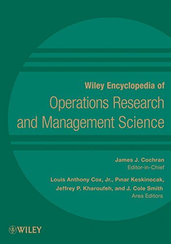 Wiley Encyclopedia of Operations Research and Management Science, 8 Volume Set (Wiley Encyclopedia Of Operations Research And Management Science)