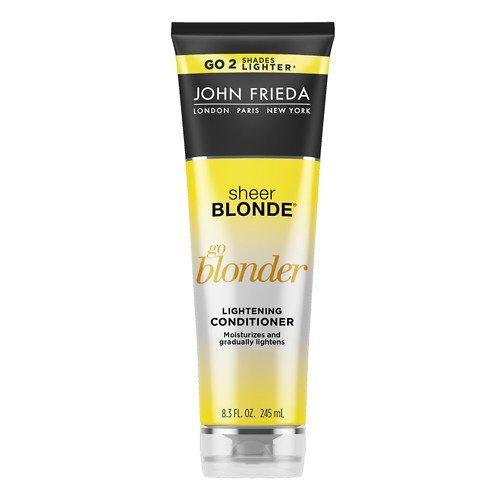 john frieda sheer blonde go blonder lightening shampoo and conditioner new 8 3 fluid ounce. Black Bedroom Furniture Sets. Home Design Ideas