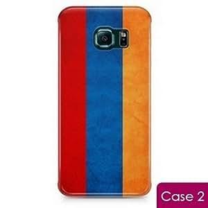 Armenia Vintage Country Flag Protection Hard Phone Skin Case for Samsung Galaxy S6 Edge SM-G925 SM-G925F G925T G925P G925R G925V G925W8