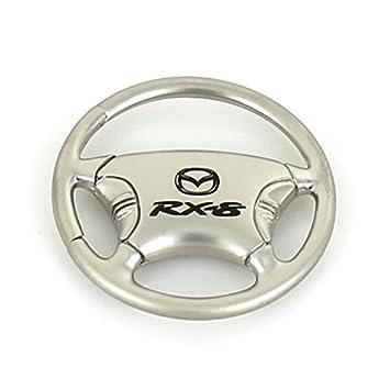Mazda RX8 volante cromo llavero: Amazon.es: Coche y moto