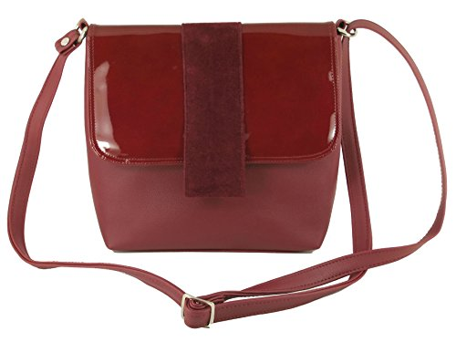 Womens Shoulder Cross LONI Handbag Desire Bag Burgundy Body H8T8Oqw