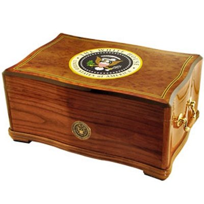 Cuban Crafters American Emblems Limited Edition White House Humidor, 120 count by Cuban Crafters