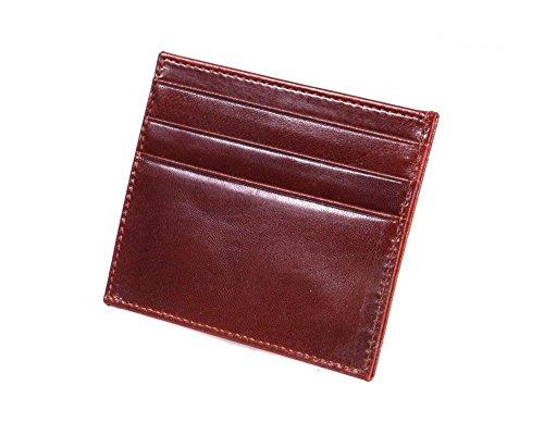 Opening Wallet Card SAGEBROWN Tan Side Side SAGEBROWN Dark pwtXxq7vX