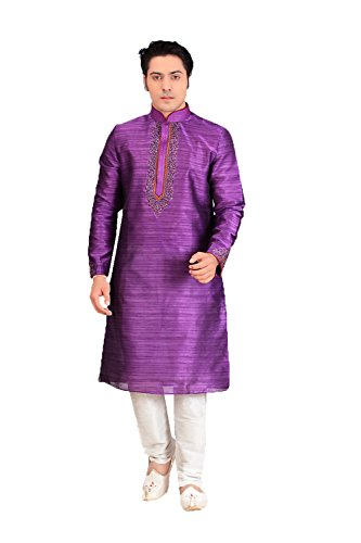 Da Facioun Traditional Fashion Comfortable Kurta Pajama Set For Men,Indian Clothes Gifts For Him by Da Facioun