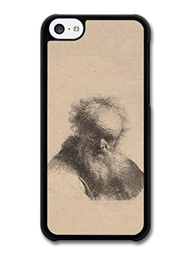 Rembrandt Van Rijn Bust of an Old Man Artist Art Vintage case for iPhone 5C