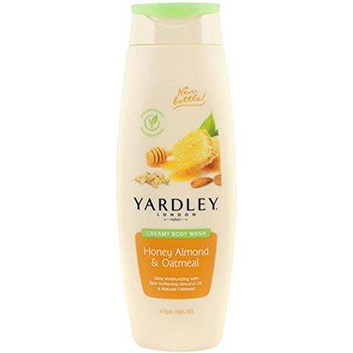 (Yardley Creamy Body Wash Honey Almond & Oatmeal, 16 Ounce by Yardley)