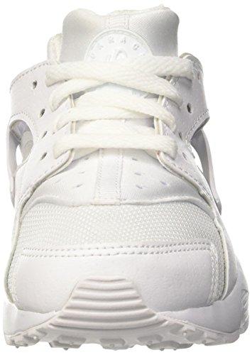 Nike Huarache Little Kids Running Shoes White/Pure Platinum 704949-110 (11.5 M US) by Nike (Image #4)