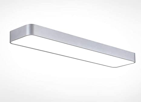 Moderne Lampen 90 : Office led decke streifen lampe moderne einfache rechteckige flur