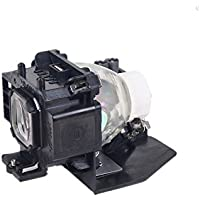 NP07LP Projector Replacement Lamp with Housing for NEC NP300 NP400 NP410W NP500 NP500W NP500WS NP510W 510WS NP600 NP600S NP610 NP610S