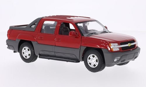 chevrolet-avalanche-red-2002-model-car-ready-made-welly-124