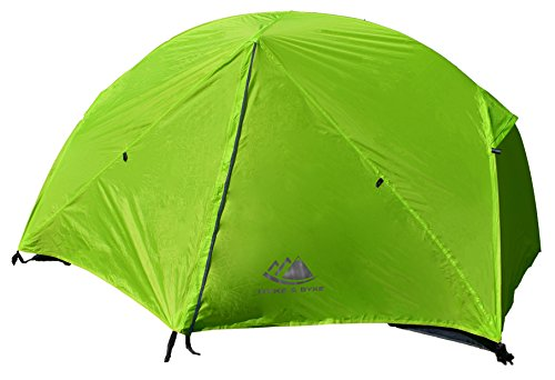 Hyke & Byke Zion Two Person Backpacking Tent with Footprint – Lightweight, Spacious Interior, Compact, and Durable Design