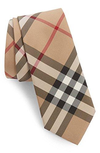 Burberry Manston Check Silk Men's Tie (Burberry Necktie)
