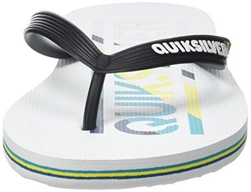 Quiksilver Molokai Wordmar M Sndl Xbyb - Sandalias para hombre Multicolor