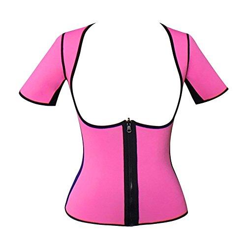 Valentina Women's Workout Training Shirt Sweat Neoprene