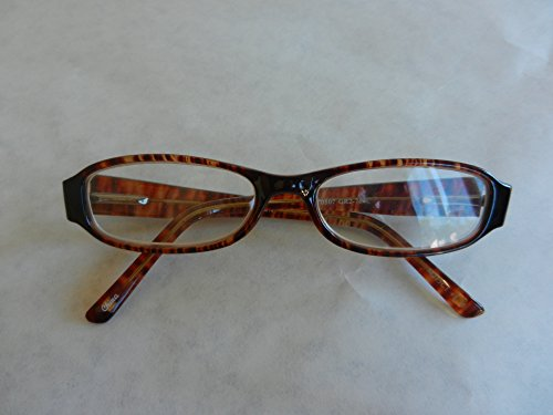 329 Glasses - Foster Grant +2.25 Brown Tortoise Plastic Frame Reading Glasses (329) + FREE Cleaning Cloth