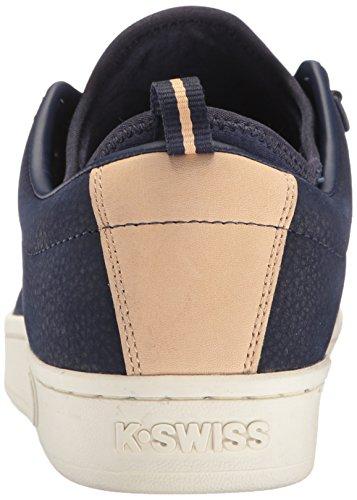 K-Swiss Men's Classic 88 Sport Low-Top Sneakers, Black White, 8 UK Eclipse/Sheep Skin