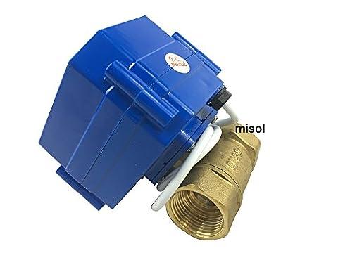MISOL 1pcs of motorized ball valve 3/4