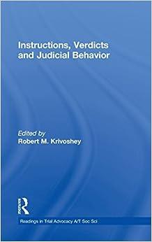 PDF Download Instructions, Verdicts, and Judicial Behavior