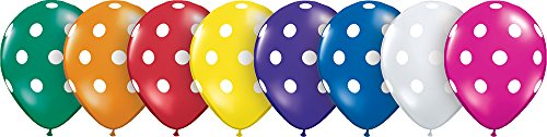 Jewel Assorted Latex Balloons - 5
