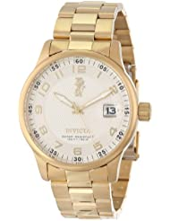 Invicta Mens 15261 I-Force 18k Yellow Gold Ion-Plated Stainless Steel Watch