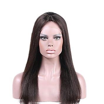 DESY peluca de cabello humano frente del cordón de la venta caliente para las mujeres negras