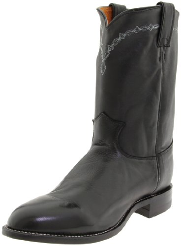 .S.A. Roper Boot,Black Chester,7 E US (Justin Mens Roper)