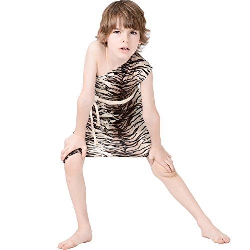 Tarzan Secret Wishes Jungle Costume (7-9 Years, Leopard)