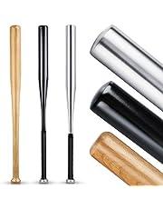 Heldenwerk Baseballschläger aus Holz oder Aluminium - Mit 31 Zoll auch zur Selbstverteidigung ideal - Solide verarbeitet