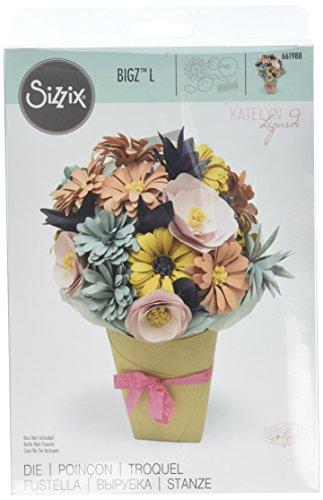 Sizzix 661988 Bigz L Die, Bundle of Flowers - Die Bundle
