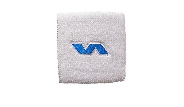 Varlion Classic - Muñequera de pádel, complemento, Unisex, Blanca