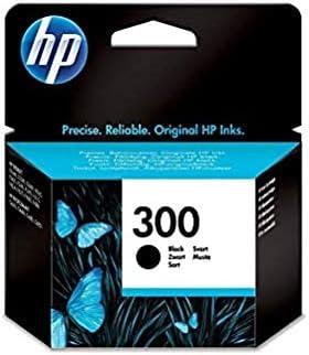 Oferta amazon: HP 300 CC640EE, Cartucho Original de Tinta Negro , compatible con impresoras de inyección de tinta HP DeskJet D2560, D2660, F4280, F4224, F4283; Photosmart Serie C