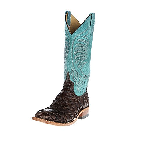 Anderson Bean Womens Big Bass Turquoise Sinsation 13 Top 10 B Brown (Women Boots Bean Anderson)