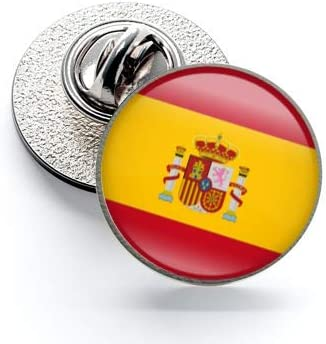 Pack 5 Pins de Solapa Spain Flag Ribbon - Lazo Bandera España 17mm ...