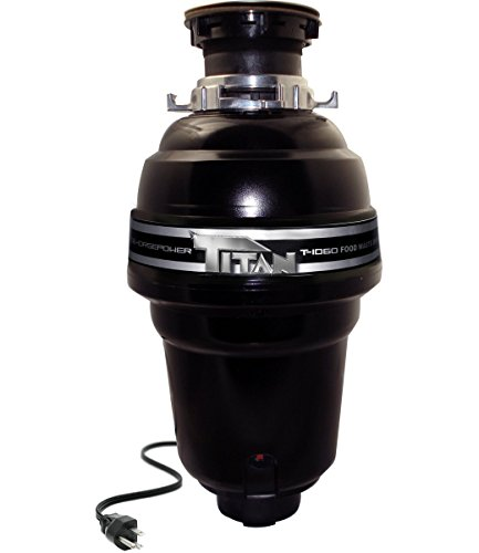 Price comparison product image Titan T-1060 1¼ HP Premium Food Waste Disposer