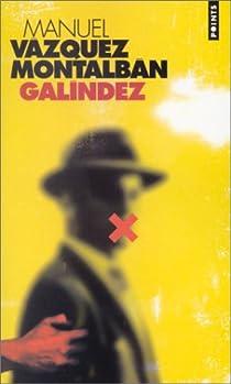 Galíndez par Vázquez Montalbán