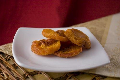 Dried Peaches 10 lbs. Case by Bulk Dried Fruit by Bulk Dried Fruit